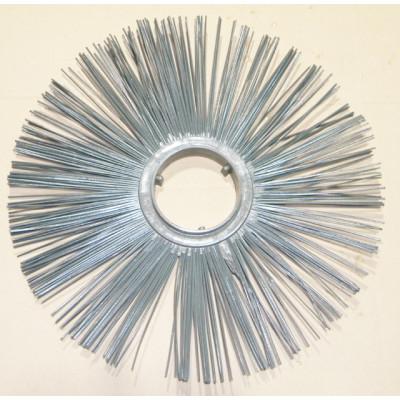Щітковий диск (пластикова обойма) беспроставочное D120 * 550 пряме