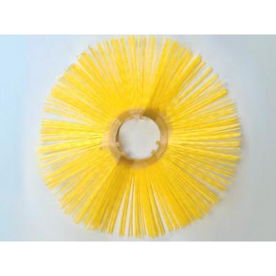 Щітковий диск (пластикова обойма) D120 * 550 зигзаг