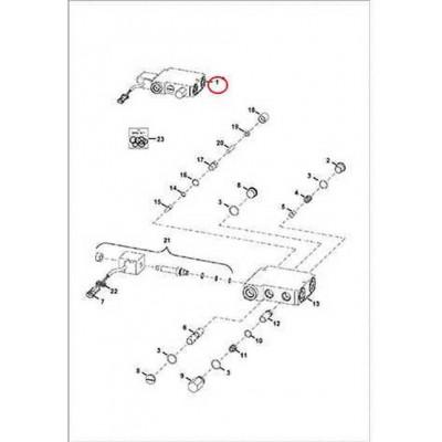 6675669 Клапан позиціонування ковша (BPV) Bobcat