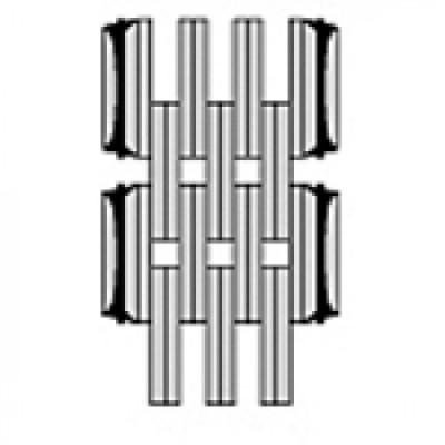 Цепь стрелы (подъёмного устройства) погрузчика 6x6 (31)