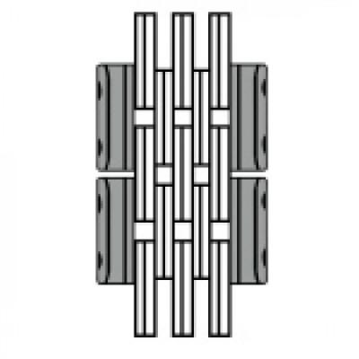 Цепь стрелы (подъёмного устройства) погрузчика 6x6 (38)