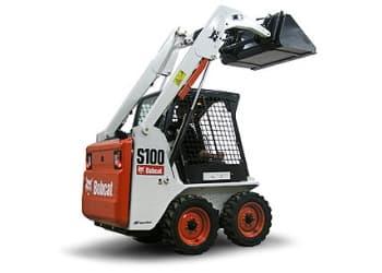 Колісний міні-навантажувач Bobcat S100